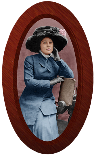 Restored Photo of Marie